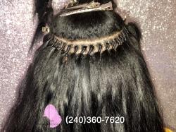 Instalacao de mega hair - Amarrado e outros (150$)...