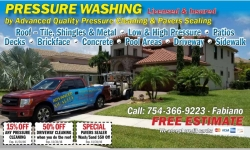 Pressure cleaning/ windows cleaning