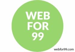 $99 Website. Desenho Rápido e Profissional.