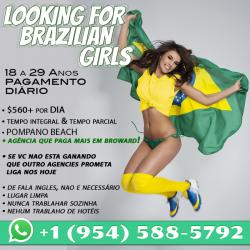 Looking for Brazilian Girls 18-29 anos • Pagamen...