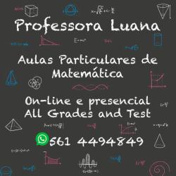 Matemática - Aula Particular