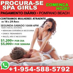 PROCURA-SE 'SPA GIRLS' 18-29 • Pagamento Diário...